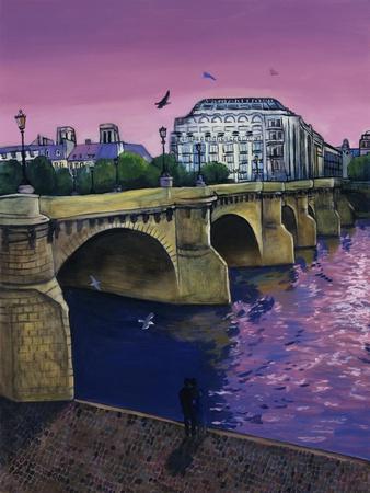 Le Pont Neuf-Isy Ochoa-Giclee Print