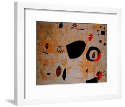 Le Port, c.1945-Joan Miro-Framed Art Print