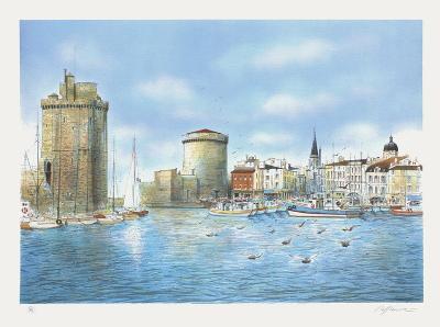 Le Port de La Rochelle-Rolf Rafflewski-Collectable Print