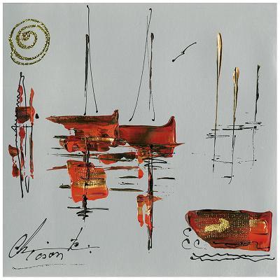 Le port-Christine Tison-Art Print