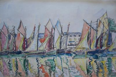 Le Pouliguen, 1929-Paul Signac-Giclee Print