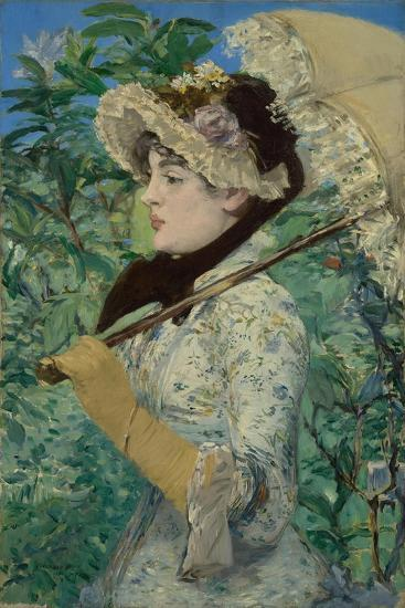 Le Printemps (Jeanne Demarsy), 1881-Edouard Manet-Giclee Print