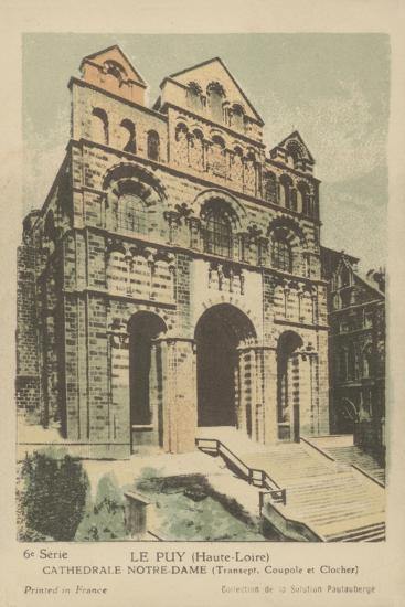 Le Puy, Cathedrale Notre Dame--Giclee Print
