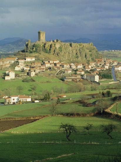 Le Puy, Puy De Dome, Auvergne, France-Michael Short-Photographic Print
