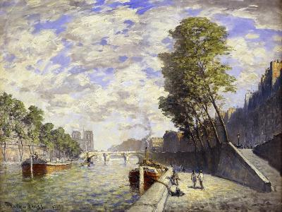Le Quai Des Grands-Augustine, Paris-Frank Myers Boggs-Giclee Print