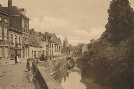 'Le Quai des Ménétriers', c1928-Unknown-Photographic Print