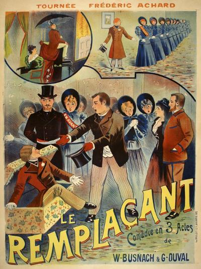 Le Remplacant-Marcus Jules-Giclee Print