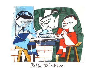 Le Repas des Infants-Pablo Picasso-Collectable Print