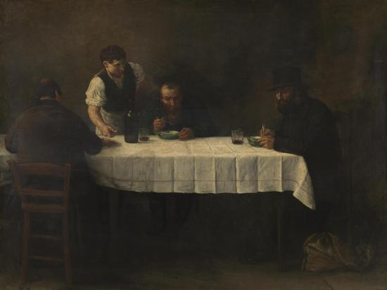 Le Repas des Pauvres-Alphonse Legros-Giclee Print