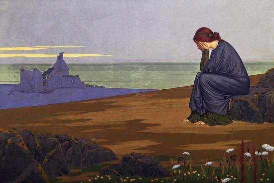 Le Retour Au Foyer (Return Home), 1913, by Alexandre Seon (1855-1917), France, 20th Century-Alexandre Seon-Giclee Print