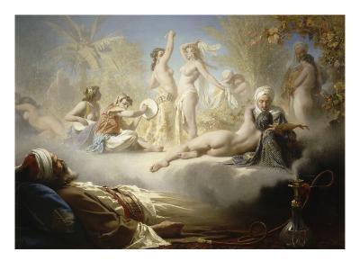 Le Rêve du croyant-Achille Zo-Giclee Print