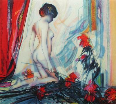 Le rideau rouge-Jean-Baptiste Valadie-Premium Edition