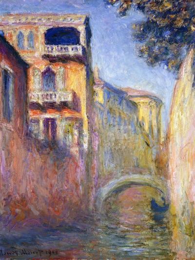 Le Rio de la Salute-Claude Monet-Giclee Print