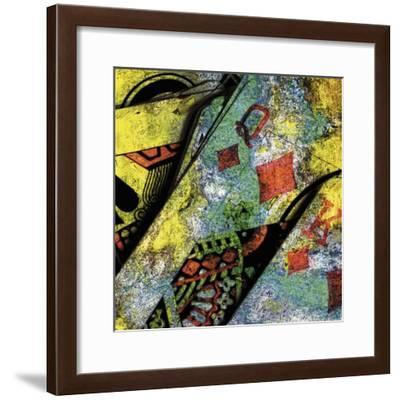 Le Roi Et La Reine De Carreau-Jean-François Dupuis-Framed Premium Giclee Print
