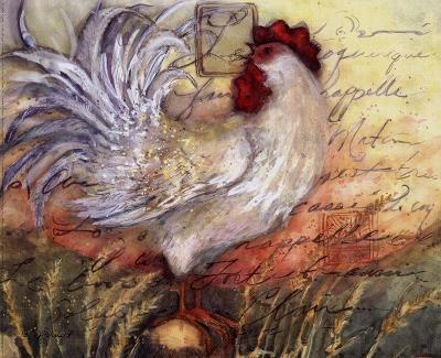 Le Rooster II-Susan Winget-Art Print