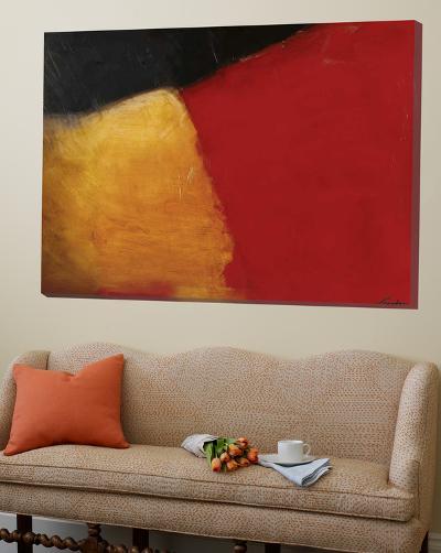Le rouge et le noir-Diane Lambin-Loft Art