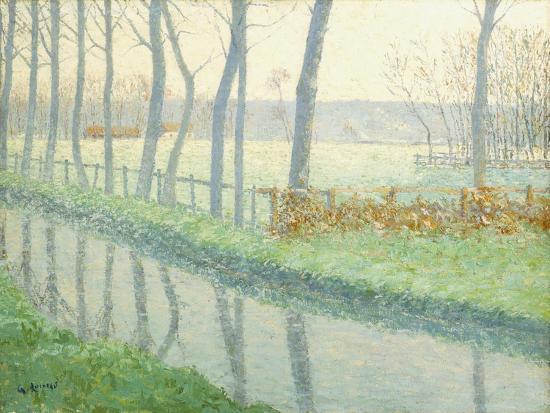Le Sausseron, Nesles-La Vallee, C.1891-Gustave Loiseau-Giclee Print