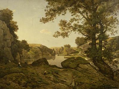 Le Saut De Loup-Henri-Joseph Harpignies-Giclee Print