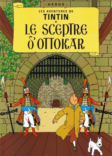 Le Sceptre d'Ottokar, c.1939-Herg? (Georges R?mi)-Art Print