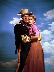 Le sergent noir SERGEANT RUTLEDGE by JohnFord with Jeffrey Hunter and Constance Towers, 1960 (photo
