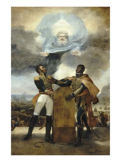 Le Serment des Ancêtres-Guillaume Guillon Lethière-Giclee Print