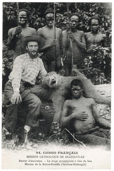 Le Singe Cynocéphale À Tête de Lion, c.1910--Giclee Print