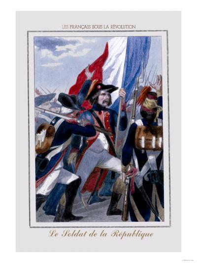 Le Soldat de la Republique--Art Print