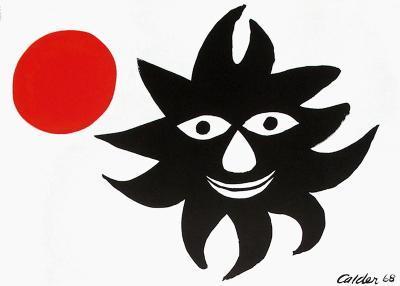Le Soleil Et La Lune-Alexander Calder-Premium Edition
