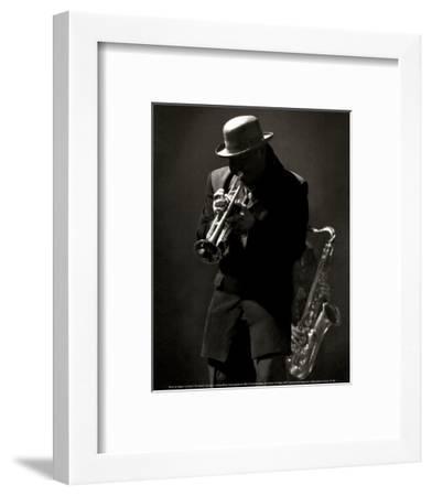 Le Soliste-Bruno De Hogues-Framed Art Print