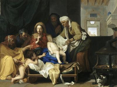 Le Sommeil de l'Enfant Jésus-Charles Le Brun-Giclee Print