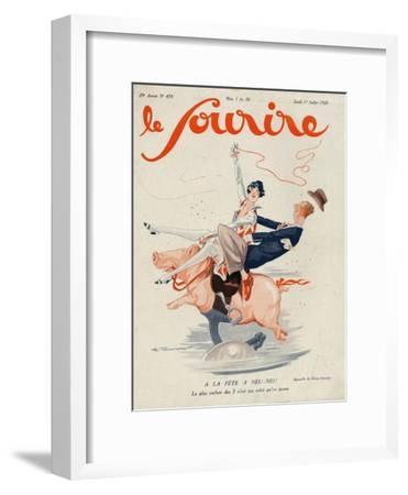 Le Sourire, 1926, France