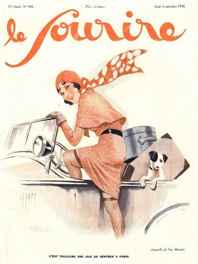 Le Sourire, Car Magazine, France, 1930--Giclee Print