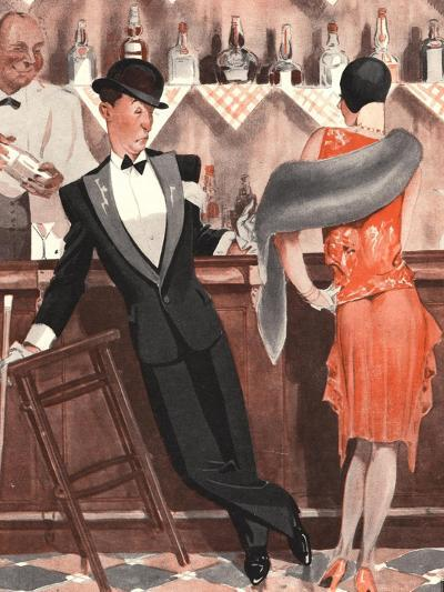 Le Sourire, Cocktails Magazine, France, 1920--Giclee Print