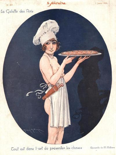 Le Sourire, Erotica Cooking Sex Magazine, France, 1926--Giclee Print
