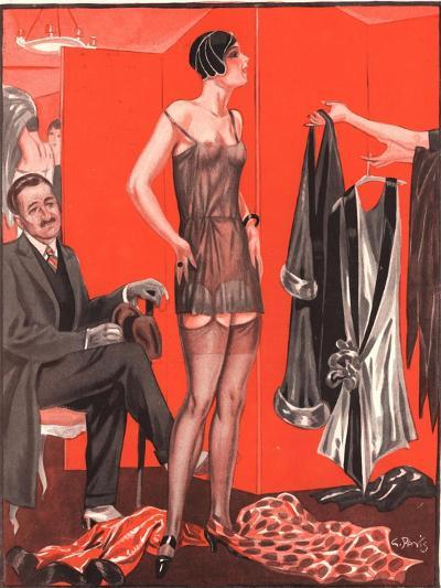 Le Sourire, Erotica Sales Womens Underwear, France, 1920--Giclee Print