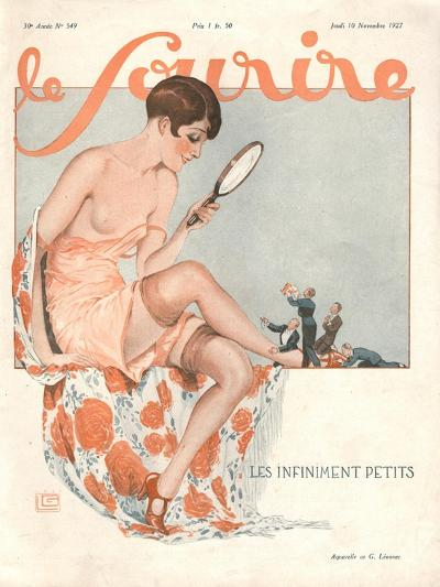 Le Sourire, Glamour Erotica, Love Suitors Magazine, France, 1927--Giclee Print