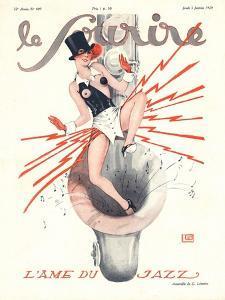 Le Sourire, Glamour Music Saxophones Erotica Magazine, France, 1920