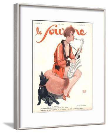 Le Sourire, Glamour Saxophones, France, 1929
