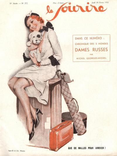 Le Sourire, Holiday Erotica Womens Magazine, France, 1932--Giclee Print
