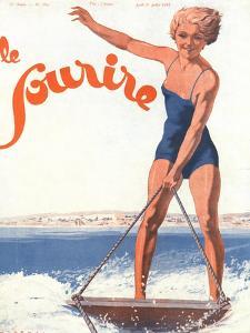 Le Sourire, Water Ski Magazine, France, 1932