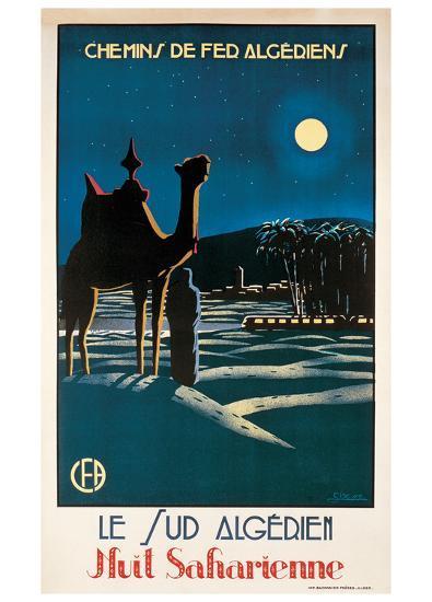 Le Sud Algerien-S^ Besse-Art Print