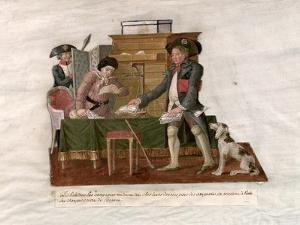 Country Folk and the Money Changer by Le Sueur Brothers