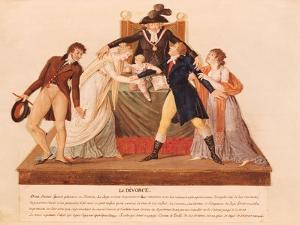 Divorce. the Reconciliation by Le Sueur Brothers