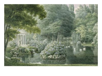Le Temple de l'Amour-Auguste Garneray-Giclee Print