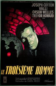 Le Troisieme Homme, (AKA the Third Man), Orsom Welles, 1949
