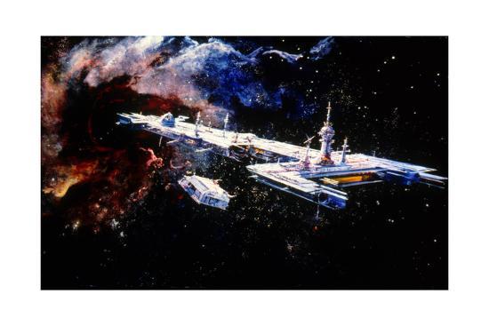 Le Trou Noir the Black Hole De Gary Nelson 1979--Art Print