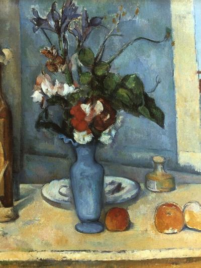 Le Vase Bleu, 1889-1890-Paul C?zanne-Giclee Print