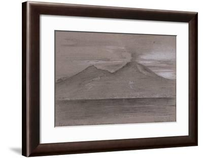 Le Vésuve. Naples-Gustave Moreau-Framed Giclee Print
