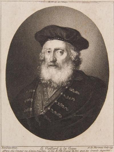 Le Vieillard a La Coque, 1771-Antoine de Marcenay de Ghuy-Giclee Print