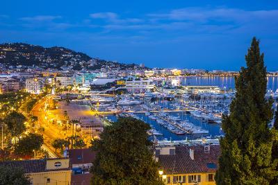 Le Vieux Port, Cannes, Alpes-Maritimes, Provence-Alpes-Cote D'Azur, French Riviera, France-Jon Arnold-Photographic Print
